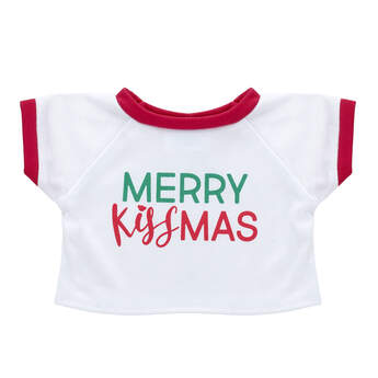 Online Exclusive Merry Kissmas T-Shirt - Build-A-Bear Workshop®