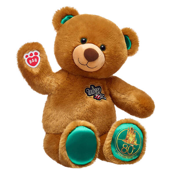 Online Exclusive The Wizard of Oz™ Bear - Build-A-Bear Workshop®