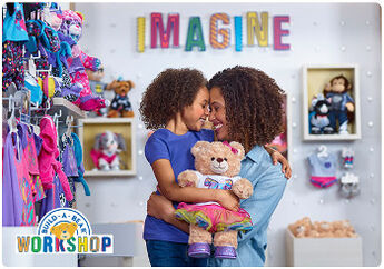 Let their imagination run wild with an E-Gift Card to Build-A-Bear Workshop!