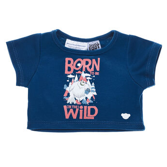If your furry friend was born to be wild just like Migo, this dark blue tee makes for a super cool style choice. SMALLFOOT and all related characters.