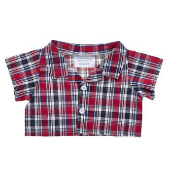 Red Plaid Shirt - Build-A-Bear Workshop®