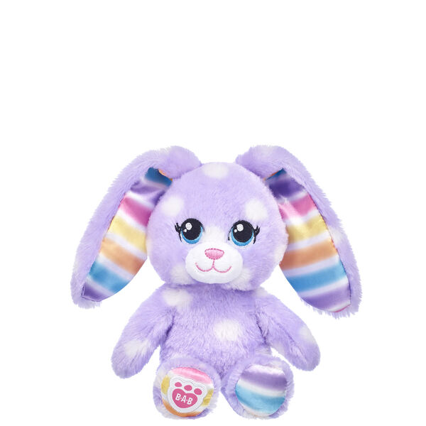 Build-A-Bear Buddies™ Purple Polka Dots Bunny, , hi-res