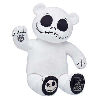 Build A Bear Christmas 2019.Jack Skellington Plush The Nightmare Before Christmas At