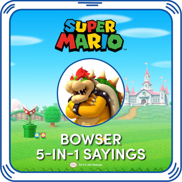 Bowser 5-in-1 Sounds, , hi-res