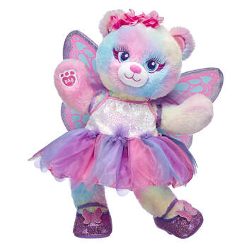 Pastel Bear Fairy Friend Butterfly Gift Set, , hi-res