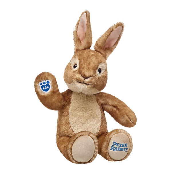 Beloved by generations of fans, the mischievous Peter Rabbit loves nothing more than a good adventure. Peter Rabbit will be the hippest hopper around when you add his signature jean jacket and 5-in-1 phrases to this special movie edition bunny. Make today a good hare day and add Peter Rabbit to your collection! Peter Rabbit and all associated characters ™ & © Frederick Warne & Co Limited. Peter Rabbit™, the Movie ©2017 Columbia Pictures Industries, Inc. All Rights Reserved.
