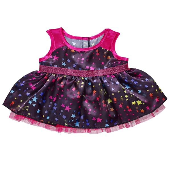 Rainbow Star Dress, , hi-res