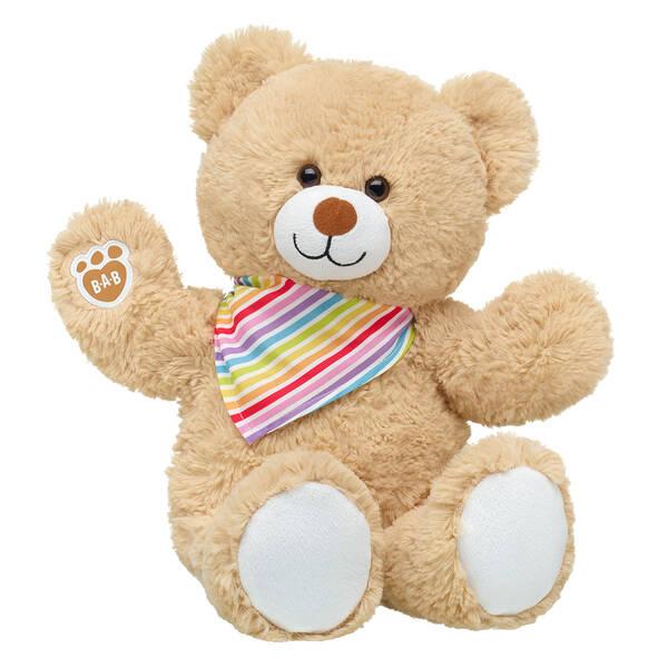Online Exclusive Cuddly Brown Bear Rainbow Gift Set, , hi-res
