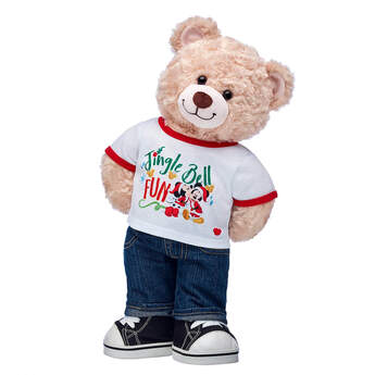 Online Exclusive Happy Hugs Teddy Disney Mickey Mouse Gift Set, , hi-res