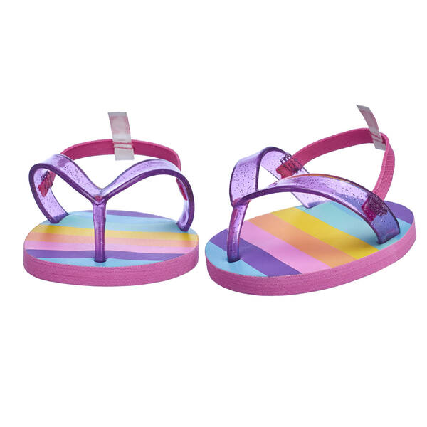 Rainbow Flip Flop Sandals - Build-A-Bear Workshop®