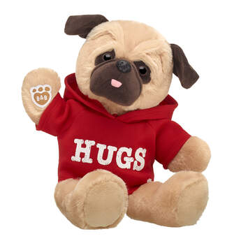 Online Exclusive Love Pug Hugs Gift Set, , hi-res