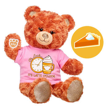 Online Exclusive Scented Pumpkin Sparkle Bear Gift Set, , hi-res