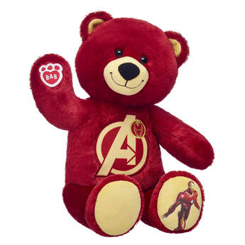 Iron Man Bear - Build-A-Bear Workshop®
