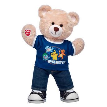 Happy Hugs Teddy Pokémon Party Gift Set, , hi-res