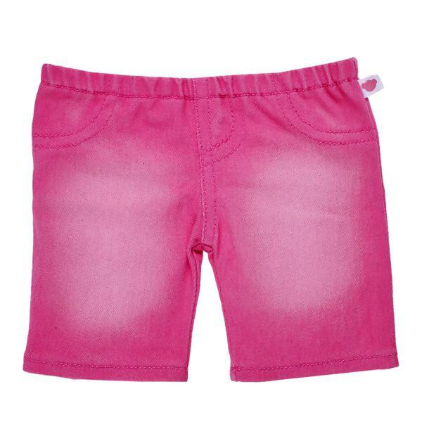 Pink Distressed Pants, , hi-res