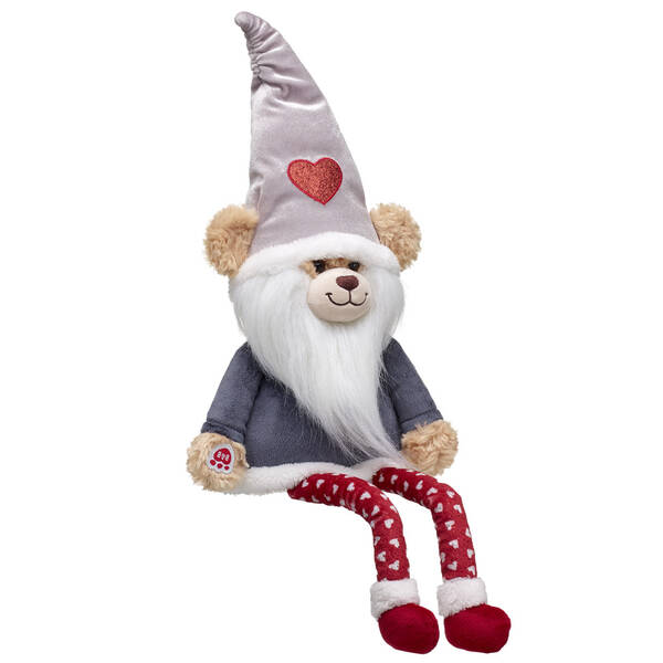 Online Exclusive Silver Shimmer Bear Gnome - Build-A-Bear Workshop®