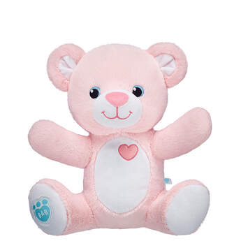 Online Exclusive 25cm Pre-Stuffed Baby Girl Bear - Build-A-Bear Workshop®