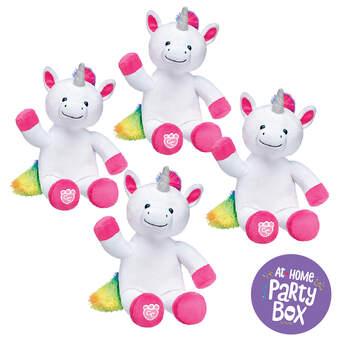 Rainbow Unicorn Furry Friends, , hi-res