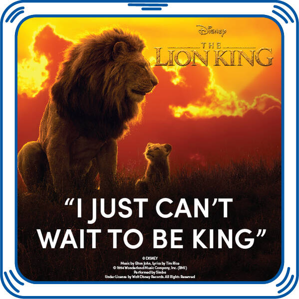 """I Just Can't Wait to Be King"" - Build-A-Bear Workshop®"