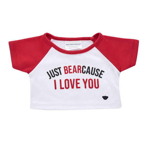 Online Exclusive Just BEARcause T-Shirt - Build-A-Bear Workshop®