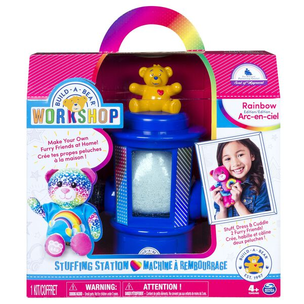 Build-A-Bear Workshop®  Rainbow Stuffing Station, , hi-res