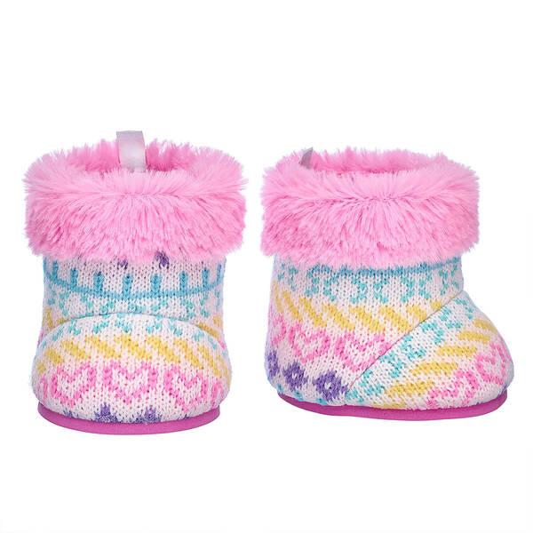 Fair Isle Winter Boots - Build-A-Bear Workshop®
