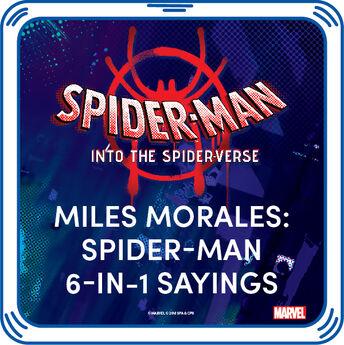 Miles Morales: Spider-Man 6-in-1 Sayings, , hi-res