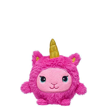 Pink Sparkle Llamacorn Slow-Foam Mini - Build-A-Bear Workshop®