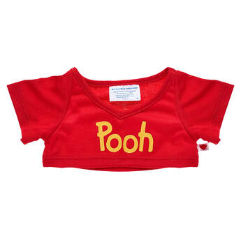 Red Disney Winnie the Pooh T-Shirt - Build-A-Bear Workshop®