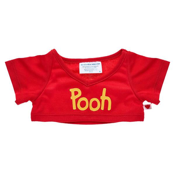 Red Disney Winnie the Pooh T-Shirt - Build-A-Bear Workshop®