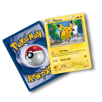 Build-A-Bear Workshop Exclusive Pokémon Pikachu TCG Card, , hi-res