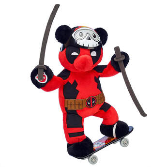 Online Exclusive Build-A-Bear as Deadpool Skateboarder Gift Set, , hi-res