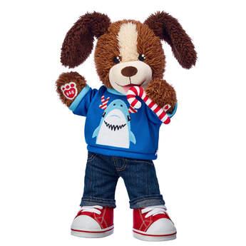 Playful Pup Christmas Shark Gift Set, , hi-res