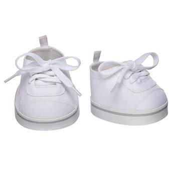White Low-Top Shoes - Build-A-Bear Workshop®