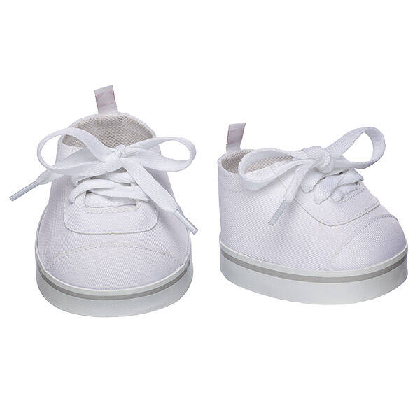 White Low-Top Shoes - Build-A-Bear Workshop®