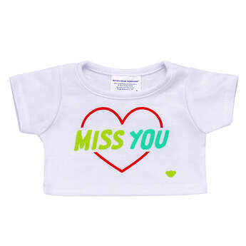 Online Exclusive Miss You T-Shirt - Build-A-Bear Workshop®