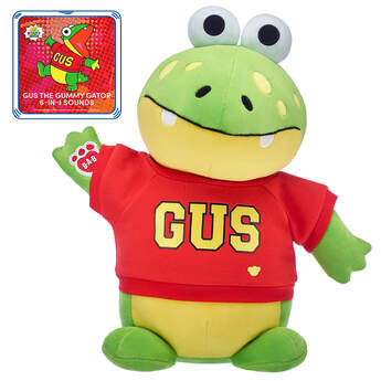 Gus the Gummy Gator™ Gift Set with 6-in-1 Sounds, , hi-res