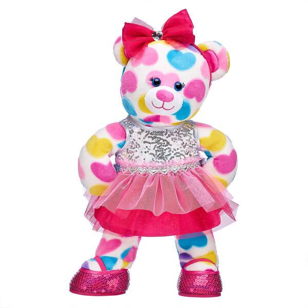 Online Exclusive Big Hearts Bear Valentine's Day Gift Set, , hi-res