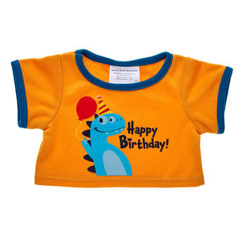 Dinosaur Birthday T-Shirt - Build-A-Bear Workshop®