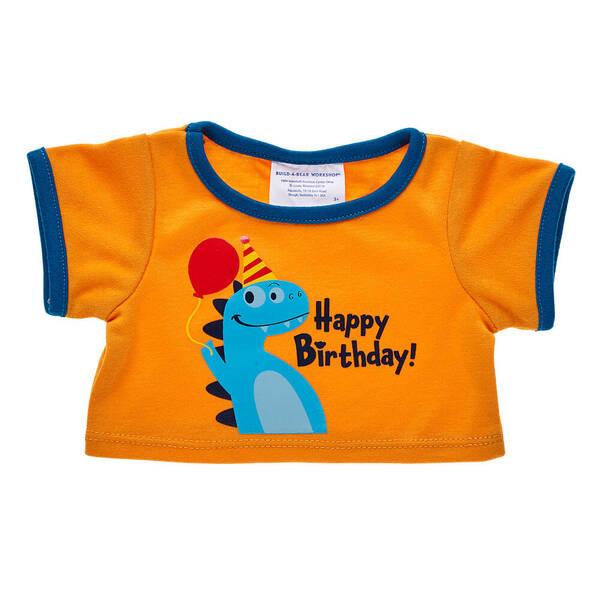 Dinosaur Birthday T-Shirt - Build-A-Bear Workshop®