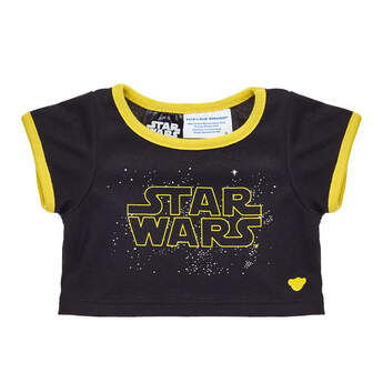 Black and Yellow Star Wars™ T-Shirt - Build-A-Bear Workshop®