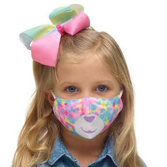 Child-Size Tie-Dye Bear Face Mask - Build-A-Bear Workshop®