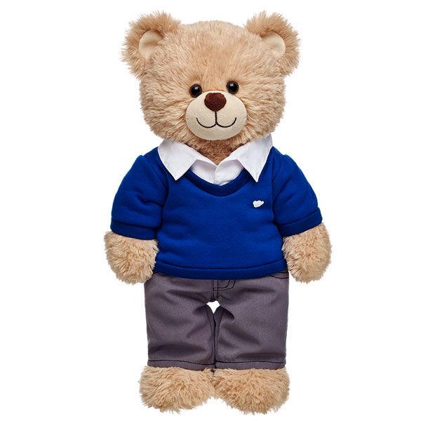 Blue & Grey School Uniform, , hi-res