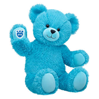 Online Exclusive Fluffy Blue Bear - Build-A-Bear Workshop®