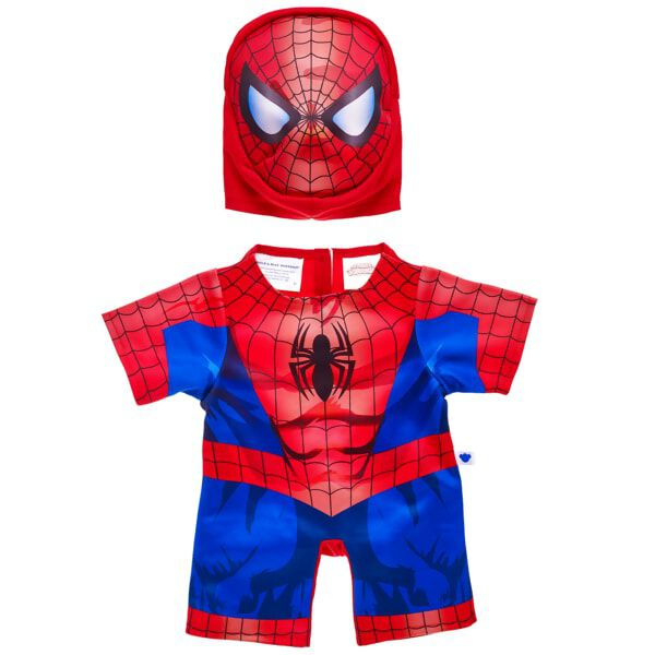 Turn your favourite furry friend into a superhero with this ultra-cool Spider-Man Costume! This two piece set is the perfect size for your furry friend and comes with Spider-Man's iconic body suit and mask. It's web-slinging fun for all! Add this costume to any furry friend to make a great gift for the superhero in your life. © 2016 Marvel