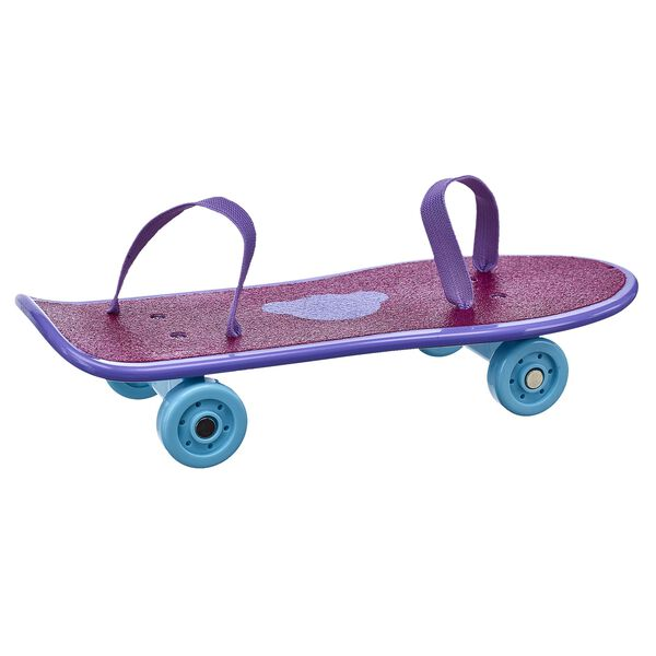 Your furry friend can skate around in style with this ultra-cool skateboard! This glittery skateboard makes a perfect sports accessory for any active furry friend. Personalise your furry friend with clothes to complete this cool look!