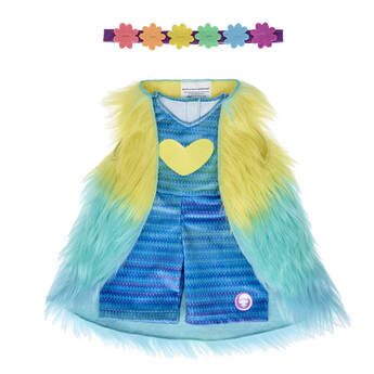 DreamWorks Trolls Poppy Rainbow Outfit - Build-A-Bear Workshop®