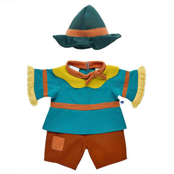 The Wizard of Oz™ Scarecrow™ Costume - Build-A-Bear Workshop®