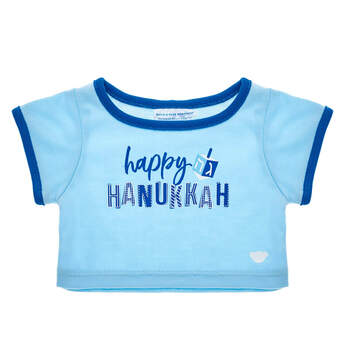 Happy Hanukkah T-Shirt - Build-A-Bear Workshop®