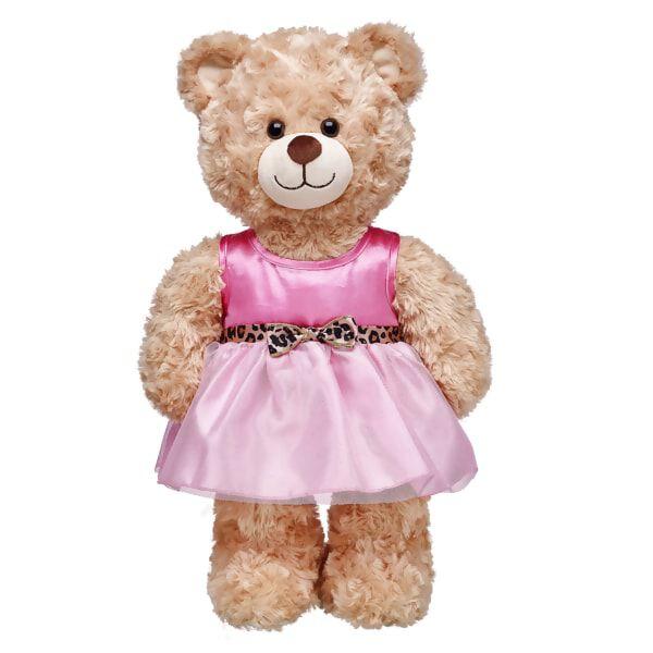 Pink Leopard Belt Dress, , hi-res